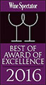 Wine Spectator: Best of Award of Excellence