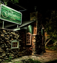 The Greenbriar Inn bar